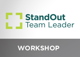 Image of StandOut Team Leader workshop
