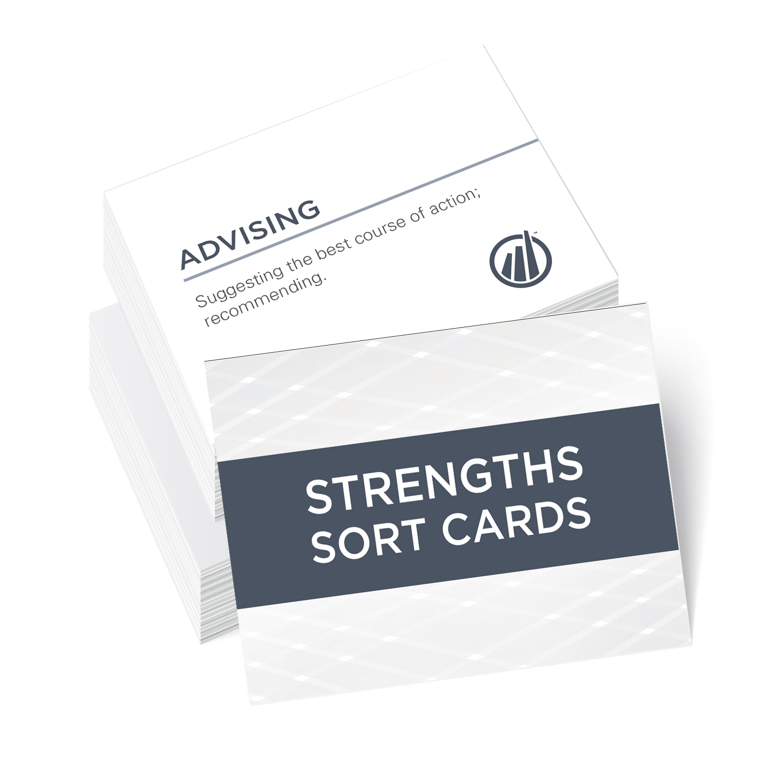 Image of Strengths Sort cards
