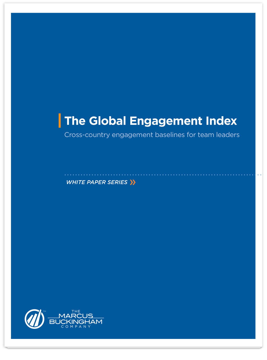 Image of The Global Engagement Index PDF