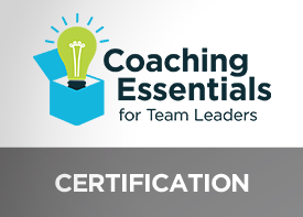 Image of Coaching Essentials for Team Leaders certification
