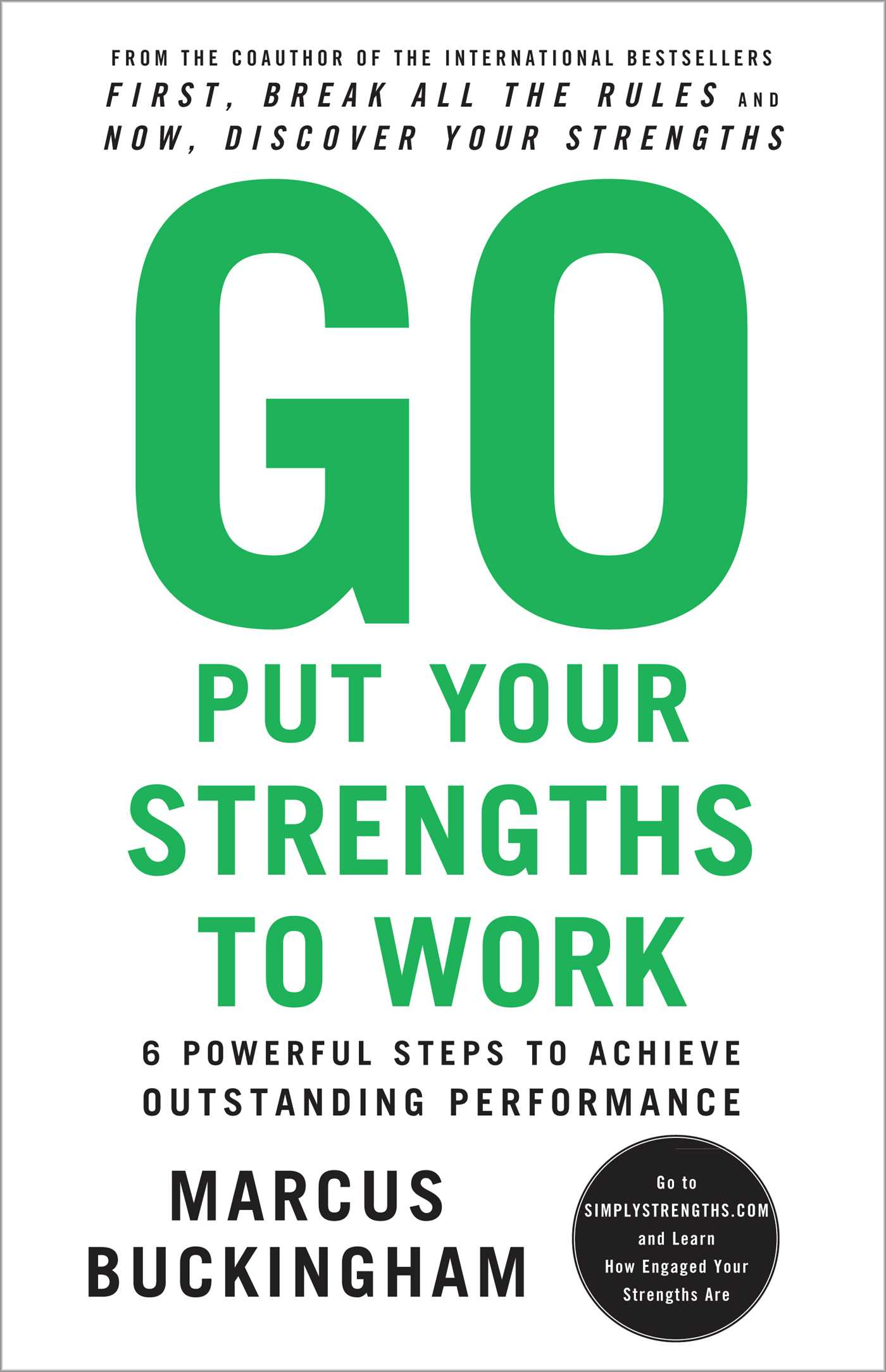 Go Put Your Strengths To Work book cover