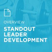 Image for StandOut Leader Development portfolio entry