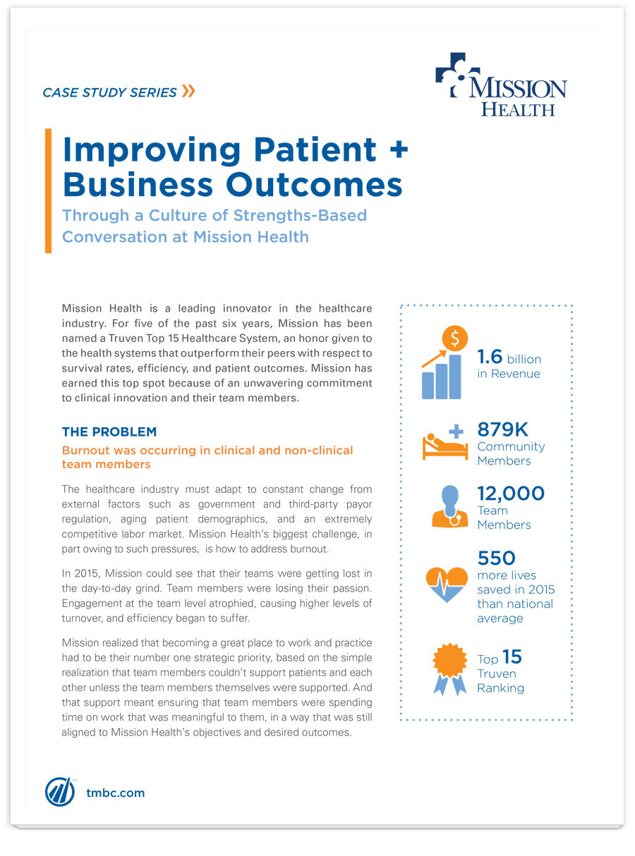 Image of Improving Patient + Business Outcomes PDF