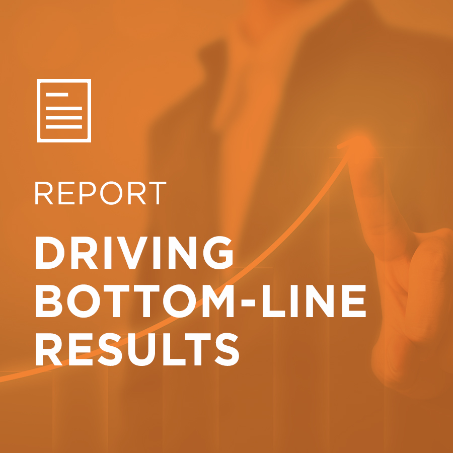 Image for Driving Bottom-Line Results portfolio entry