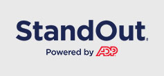 StandOut Powered by ADP logo