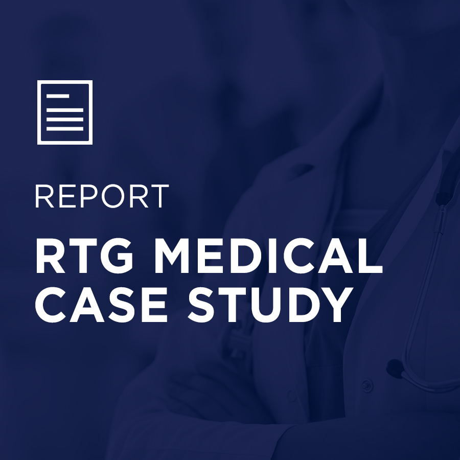 Image for RTG Medical Case Study portfolio entry