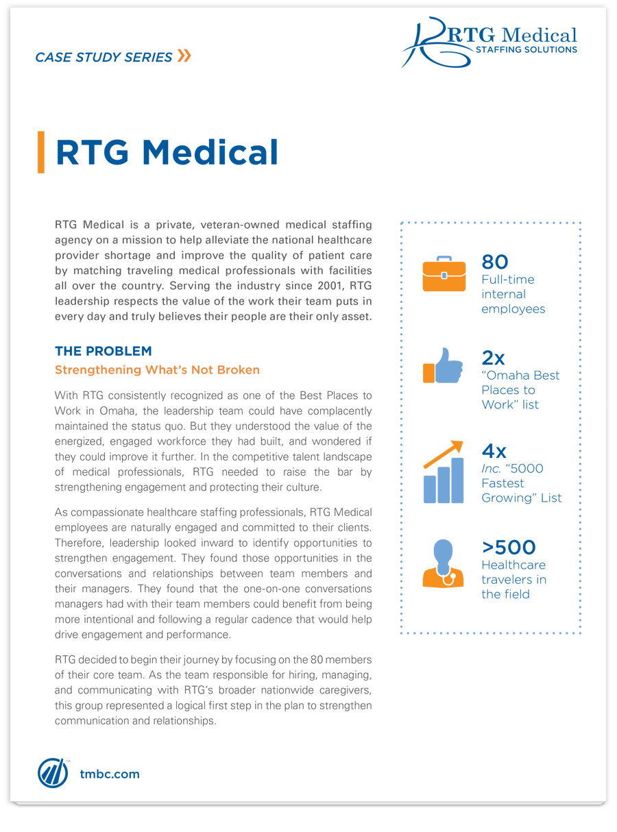 Image of RTG Medical case study PDF